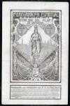 Postal antigua:Zaragoza.Peregrinación 1907 al Pilar