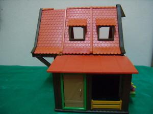 Playmobil explendida granja medieval o moderna.