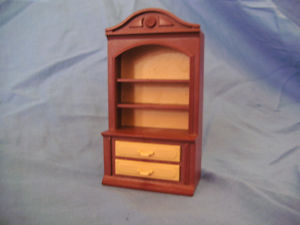 playmobil Rare victorian book case