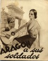 Libro antiguo:Aragón a sus soldados. Zaragoza