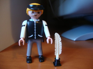 PLAYMOBIL BANQUERO OESTE / WESTERN
