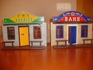 playmobil maletin banco carcel sheriff oeste western
