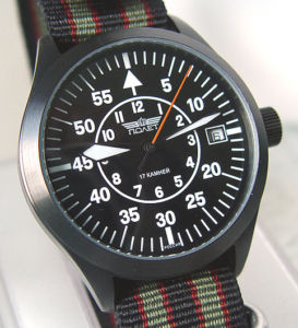 RUSSIAN POLJOT MILITARY AVIATOR WATCH SOVIET USSR CCCP