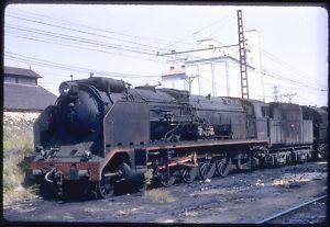 SPAIN RENFE 241F-2219 4-8-2 MIRANDA de EBRO-ORIG K135