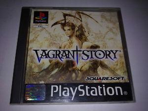 VAGRANT STORY PS1  PAL con textos en ingles
