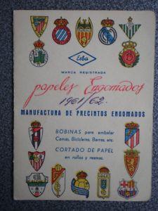Calendario Del 1961.Calendario De Futbol Ernesto Bailo Zaragoza 1961 62 2 Eur