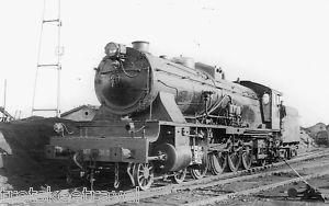RENFE Spanish Railways Steam Loco 241 2104 Miranda 1966