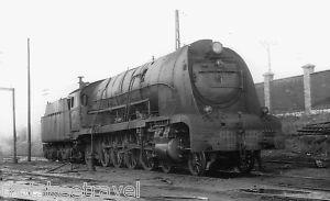 RENFE Spanish Railways Steam Loco 241 F 2108 Miranda 66