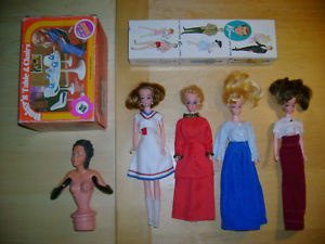 Vintage Ken Barbie Boyfriend + four Hong Kong Clones