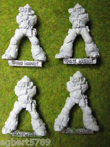 Warhammer 40K metal Space Marine Devastators OOP lot 2