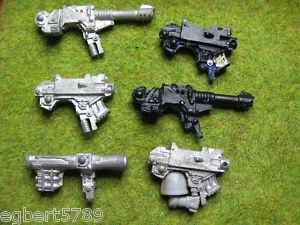 40K Space Marine Devastator heavy weapons group  OOP