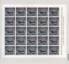 ESPAÑA-1391 Pliego 25 sellos La Cibeles- Madrid
