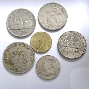 Lote 85-THAILANDIA Raras monedas