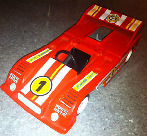 PLAYMOBIL Red Racing Car - 1979