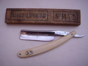 NAVAJA DE AFEITAR (STRAIGHT RAZOR) MARCA PALMERA