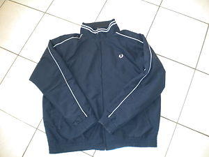Fred Perry Mens Jacket Coat Navy Size XL