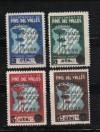 PINS DEL VALLES. JORNADES DE JULIOL DEL 1936. 4 SELLOS