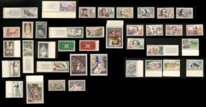 1963 ANNEE COMPLETE FRANCE TIMBRES NEUFS LUXE **