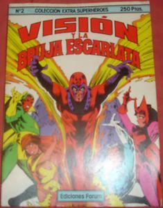 EXTRA SUPERHEROES Nº 2. LA VISIÓN Y LA BRUJA ESCARLATA
