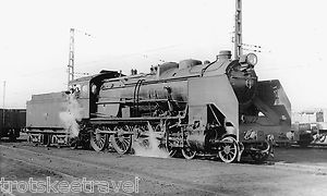 RENFE Spanish Railways Steam Loco 240 2323 Miranda 1966