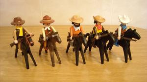 playmobil vaqueros,oeste western