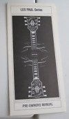 ORIGINAL 1981  GIBSON  LES PAUL SERIES MANUAL