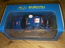 scalextric auto art subaru car