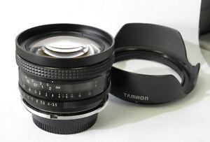 Tamron 17mm f3.5 lens. Manual Focus. Nikon Mount.