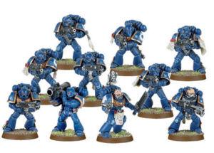 Escuadra Táctica de los Marines Espaciales Warhammer 40,000