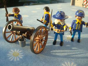 Playmobil Nordstaatler Playmobil Nordstaaten,General , Soldaten und Kanone