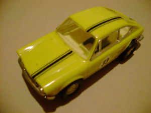 EXINMEX C42 SEAT 850 YELLOW MEXICAN SCALEXTRIC VERY,VERY,VERY RARE