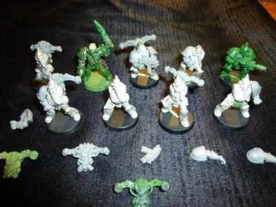 Warhammer 40K Nurgle Plague Marines