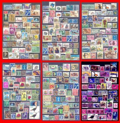 Lote sellos de colonias inglesas. SURTIDO. 6 PAGINAS.