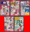 ESPAÑA - Colección de 140 sellos recientes + 4 HOJITAS