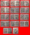 ESPAÑA y EUROPA - Colección 580 sellos en CLASIFICADOR