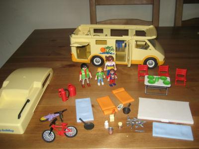 Desguace autocaravana playmobil y accesorios 10 eur for Autocaravana playmobil