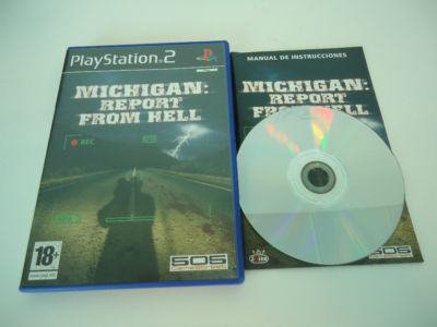Michigan Report From Hell PS2 PAL ESP