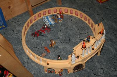 Playmobil große Römerarena mit reichhaltigem Zubehör