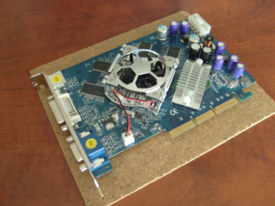 TARJETA GRAFICA NVIDIA Geforce 6600 GS - 128mb - AGP