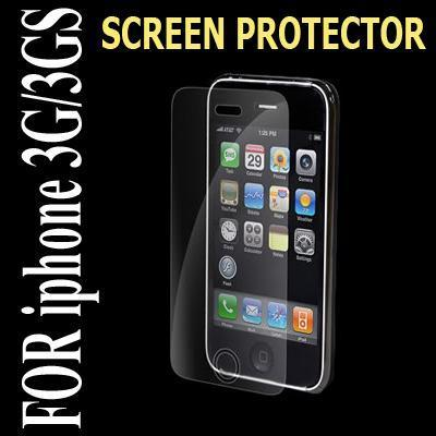 1X SCREEN PROTECTOR For apple iPhone 3G 3GS CLEAR GUARD FASHION 【FAST TO USA】