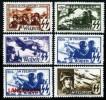 6 Nazi Belgium Legion 1943 Unissued Stamp set Replica