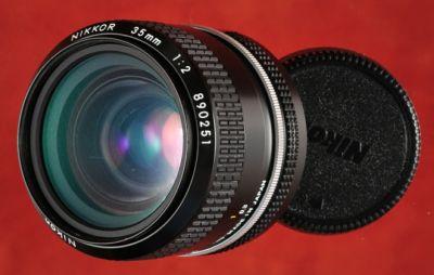 Nikkor 35mm f2 Lens - Manual Focus