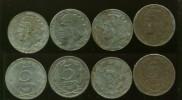 4 monedas II REPUBLICA 50 céntimos 1937 hierro