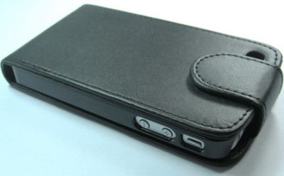 leather Skin Flip Case Cover For Apple iPhone 4 4G