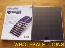 $WHOLESALE_COINS€BANDEJA NUEVA CON METACRILATO 24 X 30 CM PARA 35 MONEDAS 3,6 CM