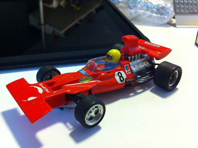 SCALEXTRIC TYRRELL FORD DE EXIN