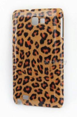 Hot Design leopard point skin hard case for Samsung Galaxy i9220 note