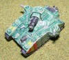 Warhammer 40k Epic Baneblade tank metal long OOP painted