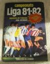 ESTE 81/82  ALBUM  CON 328 CROMOS