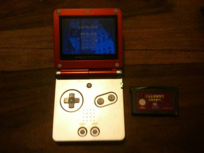 Nintendo Game Boy Advance SP Limited Edition Red Handheld